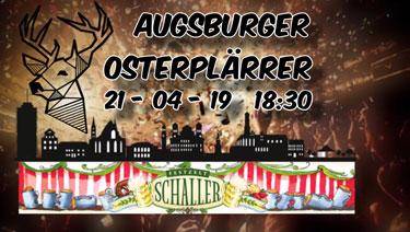 Augsburger Osterplärrer - Part I
