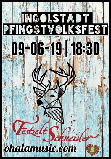 Ingolstadt Pfingstvolksfest - Partyband OHLALA im Festzelt Schneider