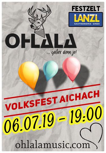 Volksfest Aichach, Festzelt Lanzl