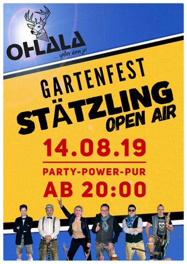 Open Air - Gartenfest Stätzling (Friedberg)